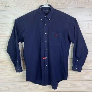 Ralph Lauren Golf Men Button Down Dress Shirt